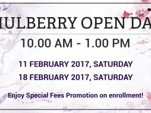 Mulberry Open Day 2017