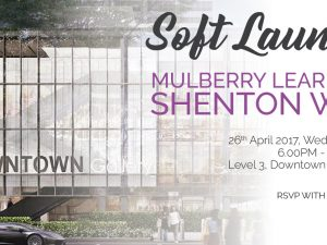 [New!] Mulberry Learning @ Shenton Way's Soft Launch
