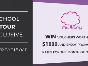 <School Tour Exclusive> Sign up for a school tour and save up to $3,000!