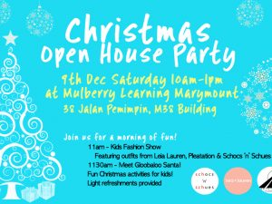 Christmas Open House Party @ Marymount