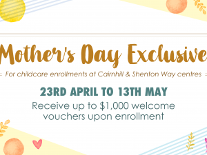 Mother's Day Exclusive (Only for Cairnhill & Shenton Way)