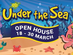 Under The Sea Open House