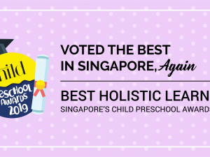 Successive Wins at Singapore's Child Preschool Awards 2019