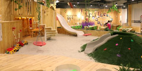 Preschool Childcare Indoor Playground