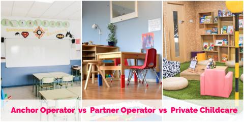 AOP vs POP vs Private Childcare